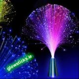 Fibre Optic Multicolour Spray Lamp