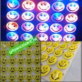 Multicolour Flashing Smiling Happy Badge