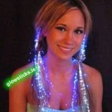 Flashing Light Up Hair Braids