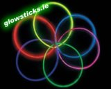 Pack of 50 Glow Necklaces 5mm x 275mm