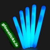 "(Pack of 25) Blue 4"" Glow Sticks 100mm"