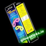 100 x Glow Eye Glasses in Retail Packages