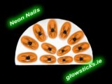 Stick on Neon Nails (Pack of 12)