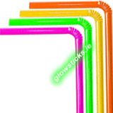 Neon Party Straws (Pack of 100)