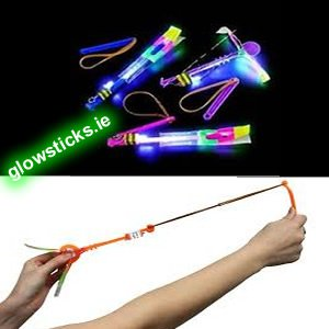 Light Up Slingshot Helicopter 50% REDUCED