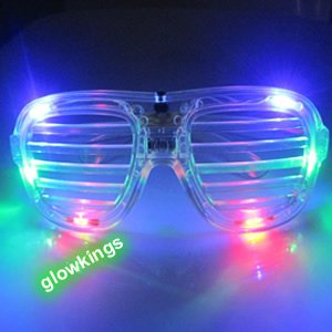 Flashing Shutter Glasses - Multicolour Special Offer: 33% off