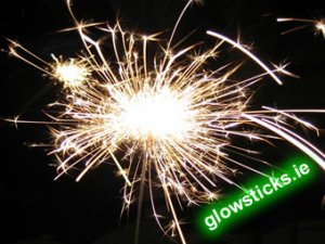 Pack of 25cm (10 inch) Outdoor Sparklers (6 Pack)